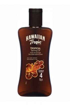 Hawaiian Tropic 5099821001094 Yağ SPF4 200ml