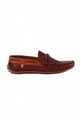 Pandew Bordo-Taba PNDW-FR-BAG Hakiki Deri Erkek Ayakkabı