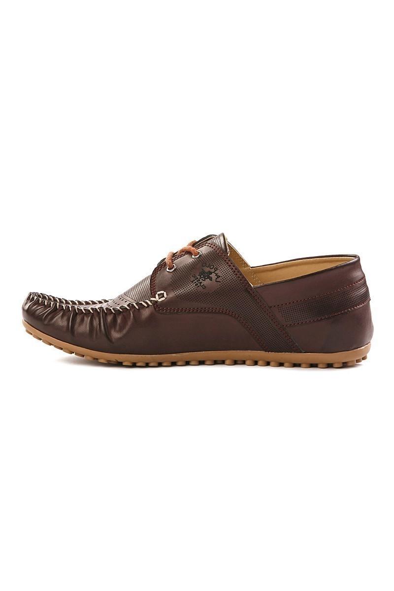 LA POLO Bordo LPL-1165 Erkek Ayakkabı