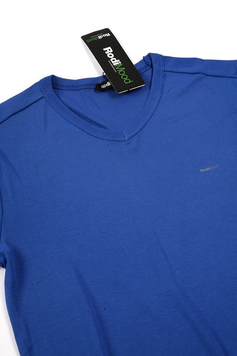 Rodi Mavi RDE-021-V Erkek Tişört