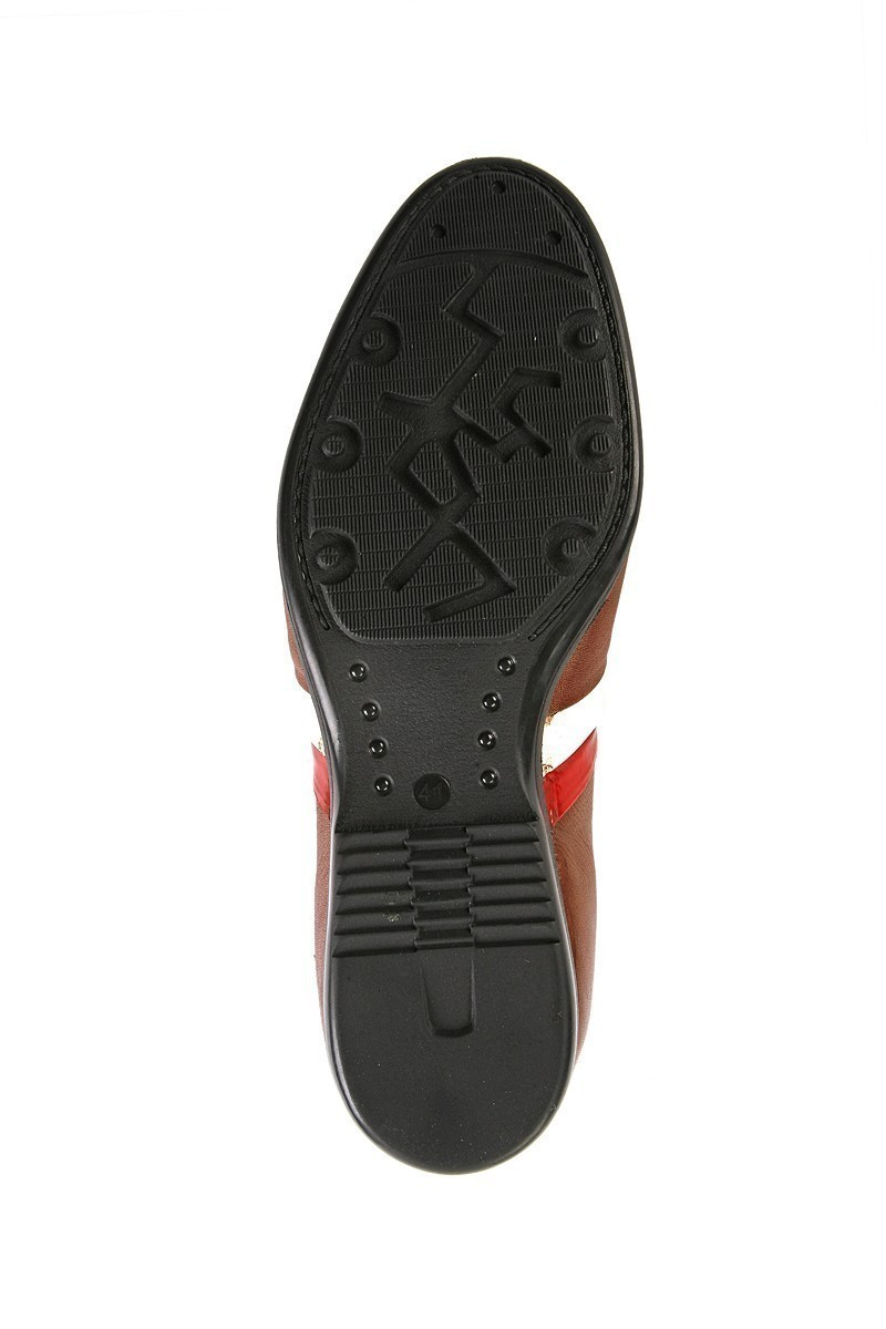 Pandew Kahverengi-Taba PNDW-2107 Hakiki Deri Erkek Ayakkabı
