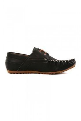 LA POLO Siyah LPL-1165 Erkek Ayakkabı
