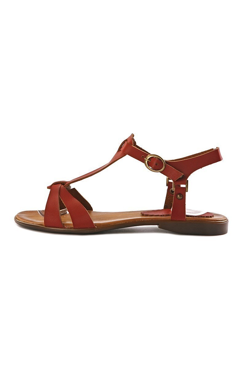 Miray Bordo MRY-034 Bayan Sandalet