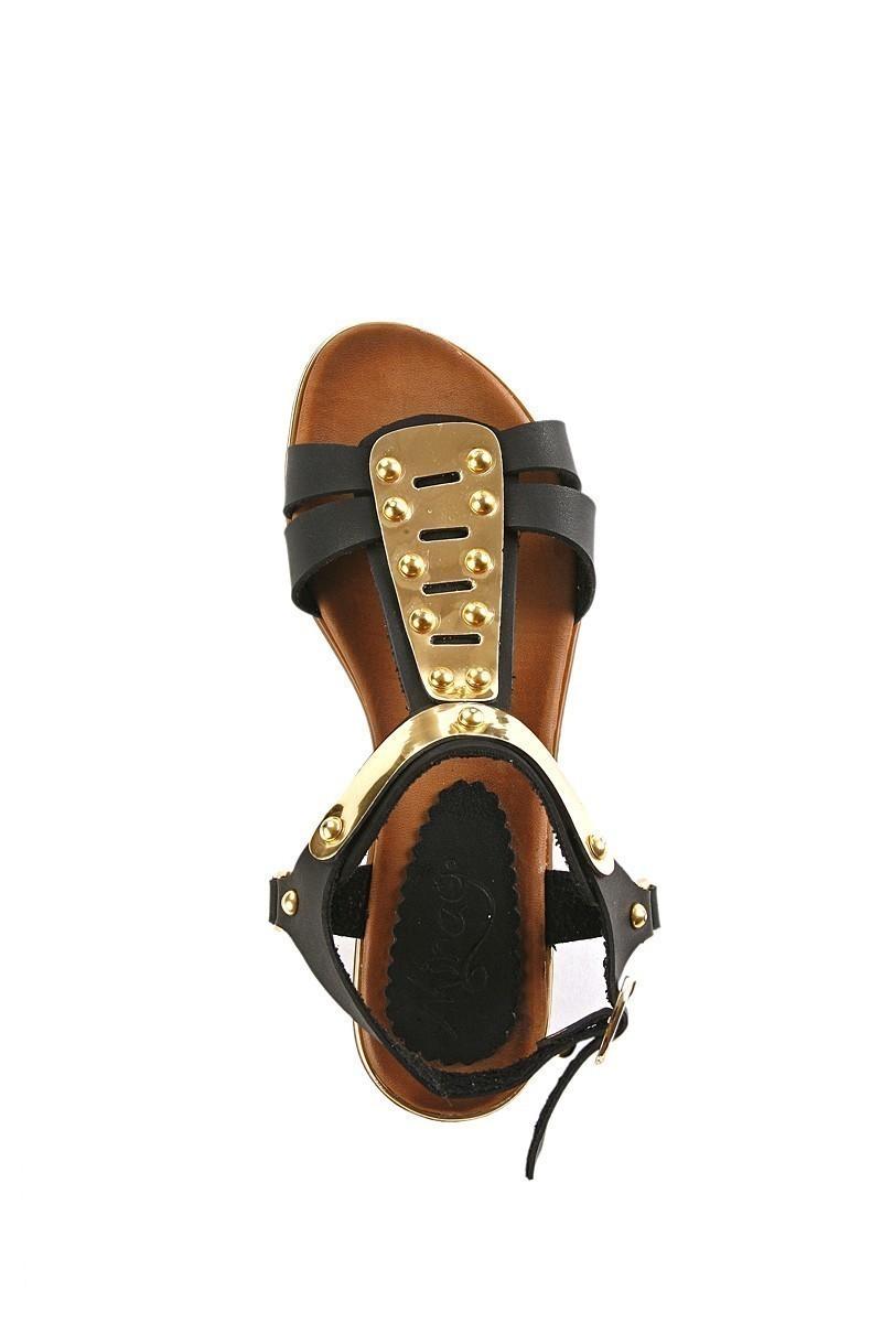 Miray Siyah MRY-017 Bayan Sandalet