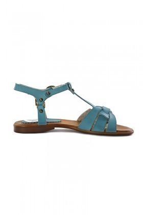 Miray Mavi MRY-015 Bayan Sandalet