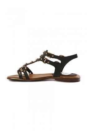 Miray Siyah MRY-09 Bayan Sandalet