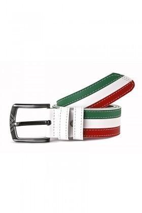 FSM Beyaz-Kırmızı-Yeşil FSM-026 Erkek Kemer