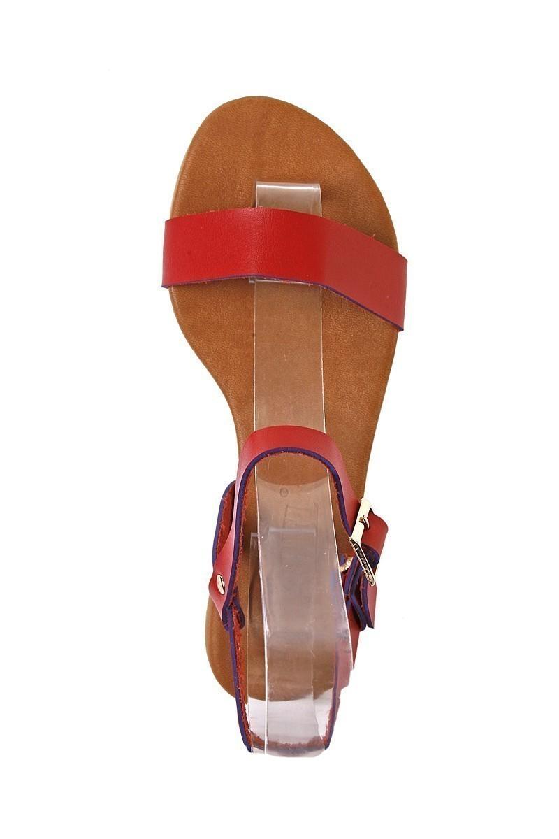 Carel Kırmızı CRL-1600 Bayan Sandalet