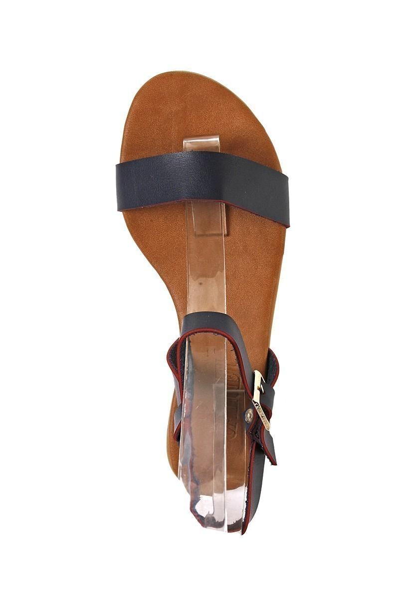 Carel Lacivert CRL-1600 Bayan Sandalet