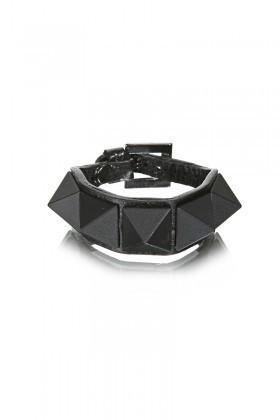 Divax Siyah DMBPBS515-SYH Mat Boyalı Piramit Bileklik