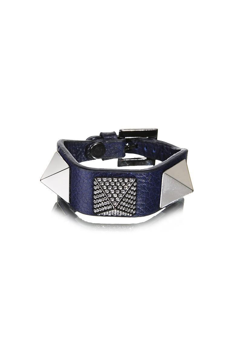 Divax Lacivert DSNTDP514-LACI Swarovski Taşlı Bileklik