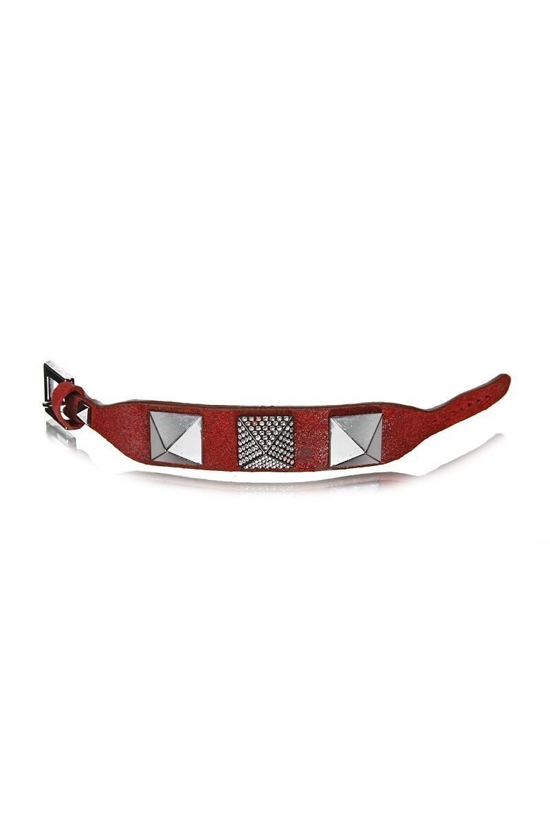 Divax Kırmızı DSNTDP514-KIR Swarovski Taşlı Bileklik