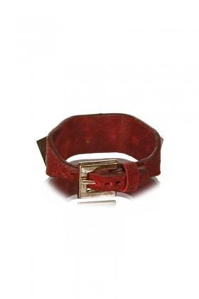Divax Kırmızı DRAKTDP512-KIR Swarovski Taşlı Bileklik