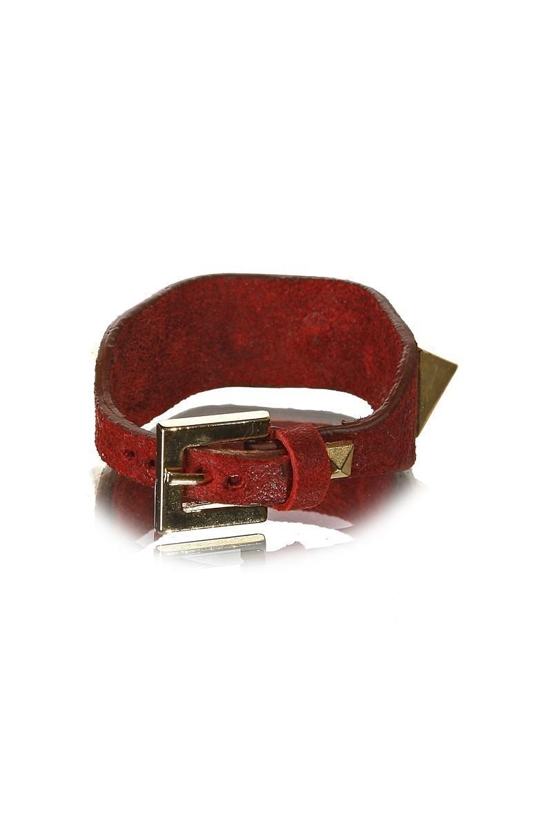 Divax Kırmızı DAKTDP511-KIR Swarovski Taşlı Bileklik