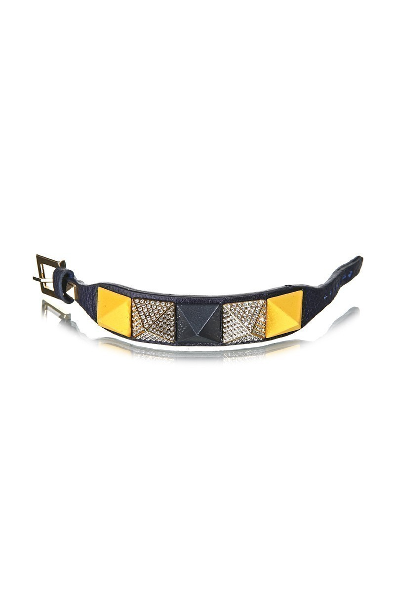 Divax Lacivert DAKTDP511-LACI-FB Swarovski Taşlı Bileklik