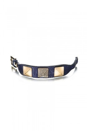 Divax Lacivert DAKTDP511-LACI Swarovski Taşlı Bileklik