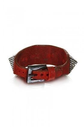 Divax Kırmızı DSNTP513-KIR Swarovski Taşlı Bileklik
