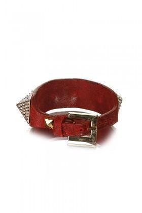 Divax Kırmızı DAKTP509-KIR Swarovski Taşlı Bileklik