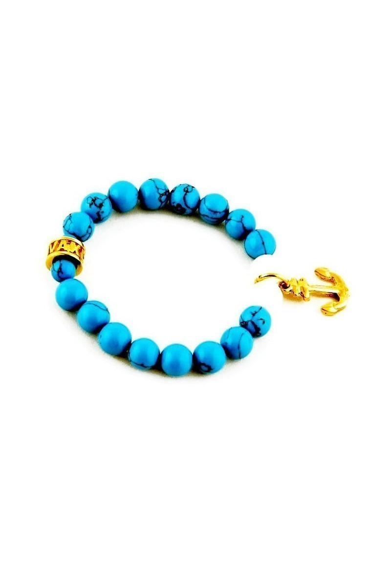 Divax Turkuaz DFS506 Elegant Turquoise Firuze Taşı Bileklik