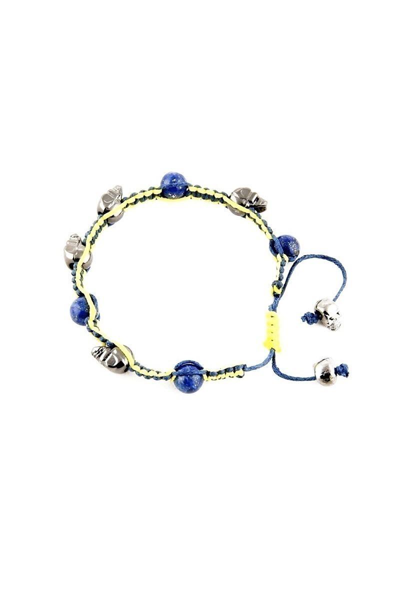 Divax Sarı-Lacivert DLCOFB012 Deep Blue Fanatic Bileklik
