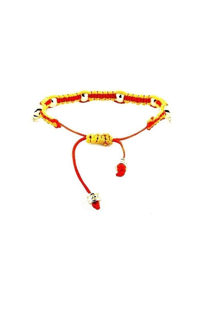 Divax Sarı-Kırmızı DCO505-GS Colour Of Competition Bileklik