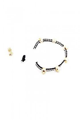 Divax Siyah-Beyaz DCO505-BJK Colour Of Competition Bileklik