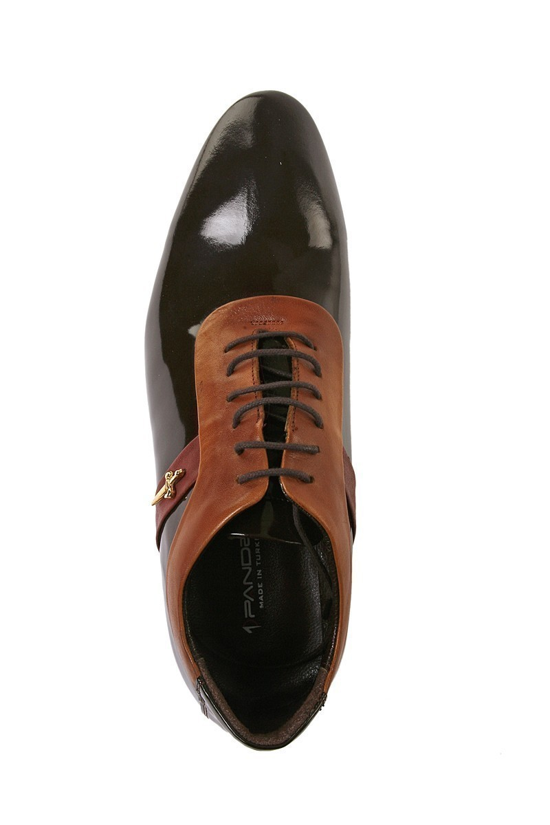 Pandew Kahverengi PNDW-1678 Hakiki Deri Erkek Ayakkabı