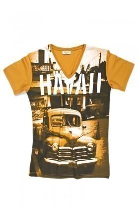Myboo Sarı MB-007 Erkek Tişört
