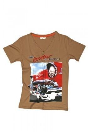Myboo Haki MB-005 Erkek Tişört