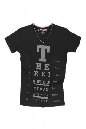 Gep To Gep Siyah GTG-009 Erkek Tişört