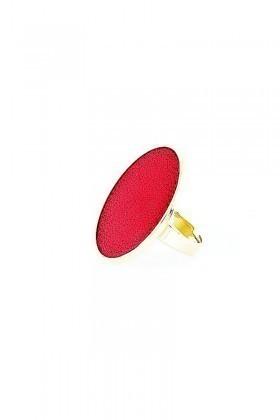Divax Koyu Kırmızı DCCMY519-KKIR Chic Colour Maxi Yüzük