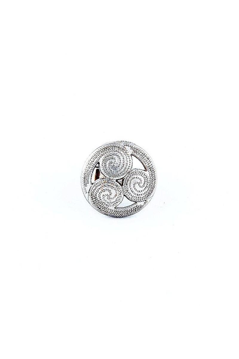 Divax Gümüş Rengi DSVY532-GMS Wind Vane Yüzük