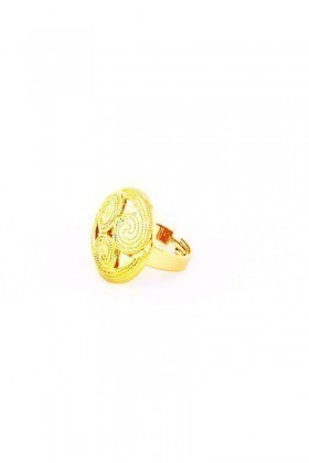 Divax Altın Sarısı DSVY532 Wind Vane Yüzük