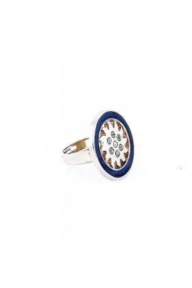 Divax Gümüş Rengi DSVMY531-GMS Sun View Maxi Yüzük