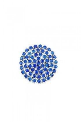 Divax Mavi DRBY529-MAV Rose Bouquet Yüzük