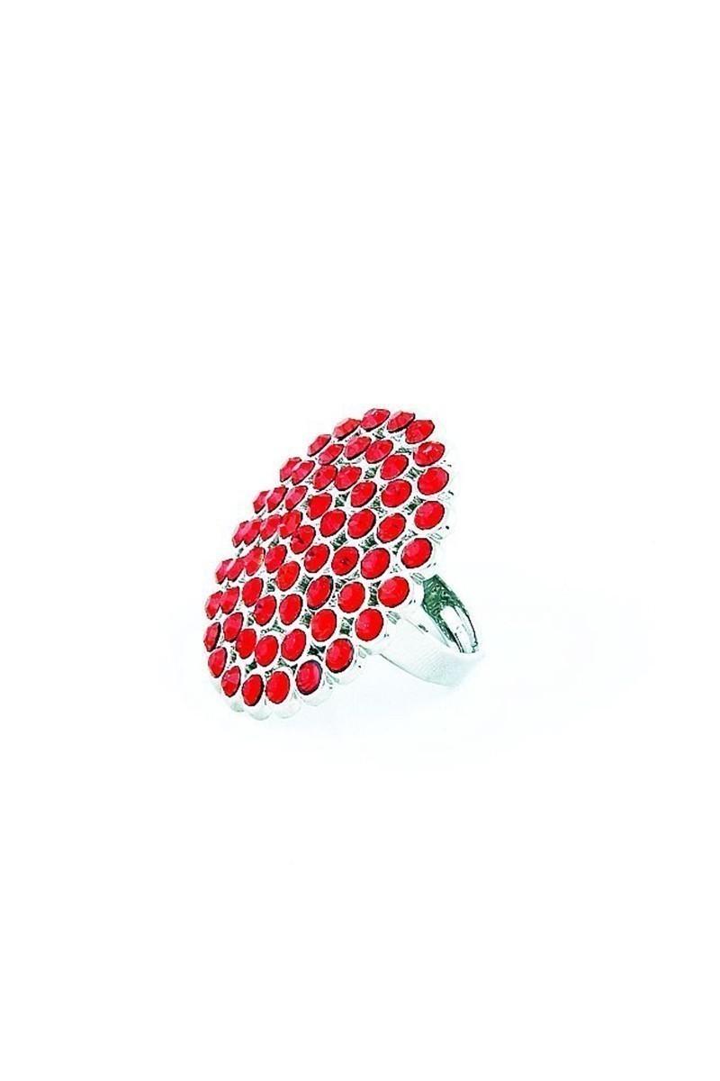 Divax Kırmızı DRBY529-KIR Rose Bouquet Yüzük