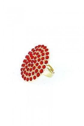 Divax Kırmızı DRBY529-KIRM Rose Bouquet Yüzük