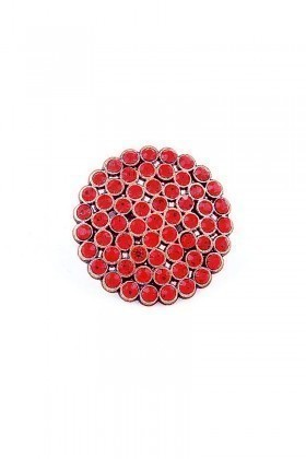 Divax Kırmızı DRBY529-KRMZ Rose Bouquet Yüzük