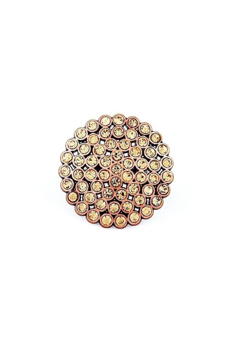 Divax Sarı DRBY529-SARI Rose Bouquet Yüzük
