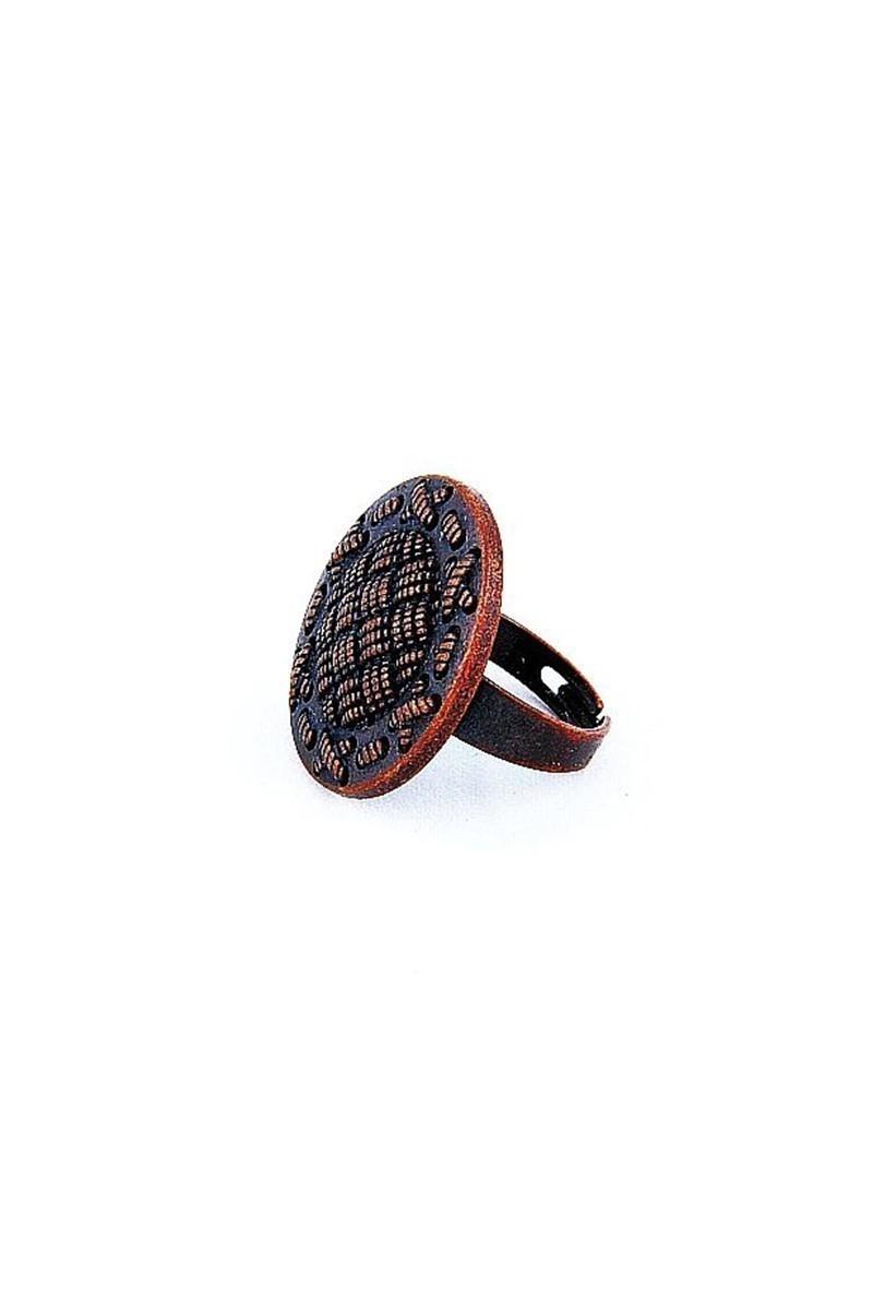 Divax Bakır DKBY526-BKR Knit Basket Yüzük