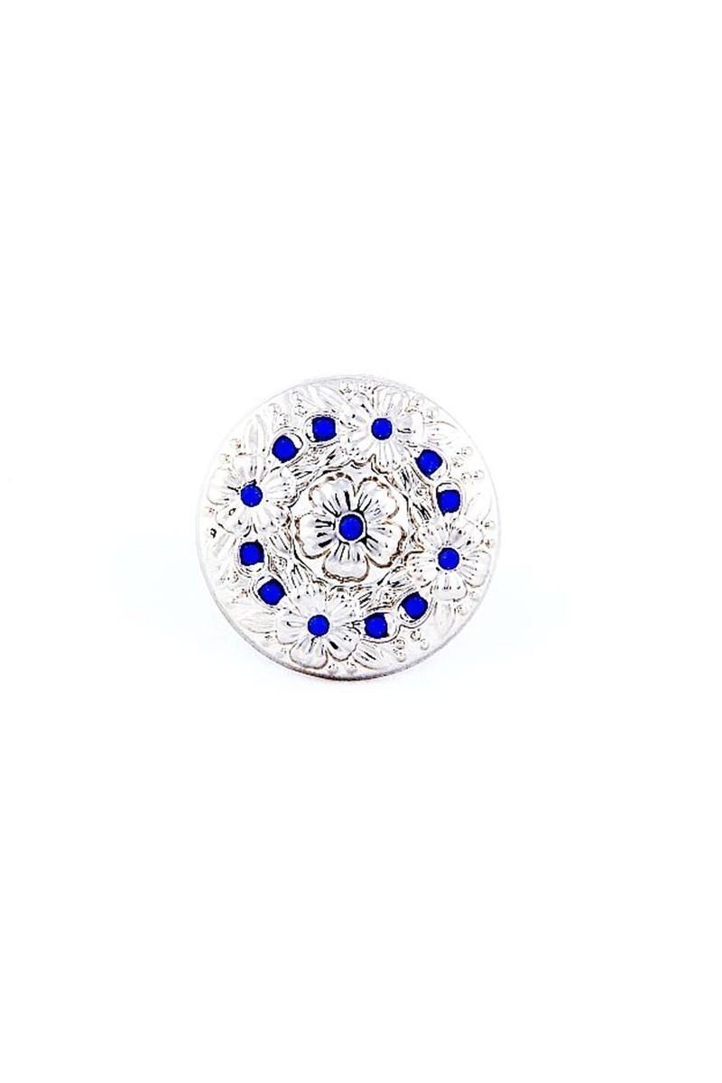 Divax Mavi DFGY525-MAVI Flower Garden Yüzük