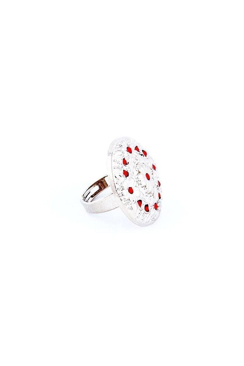 Divax Kırmızı DFGY525-KRMZ Flower Garden Yüzük