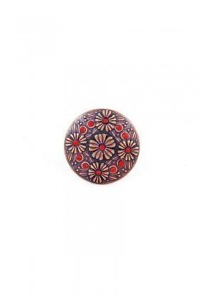 Divax Kırmızı DFGY525-KIRMZ Flower Garden Yüzük