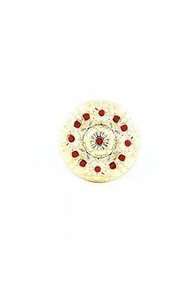 Divax Kırmızı DFGY525-KIR Flower Garden Yüzük