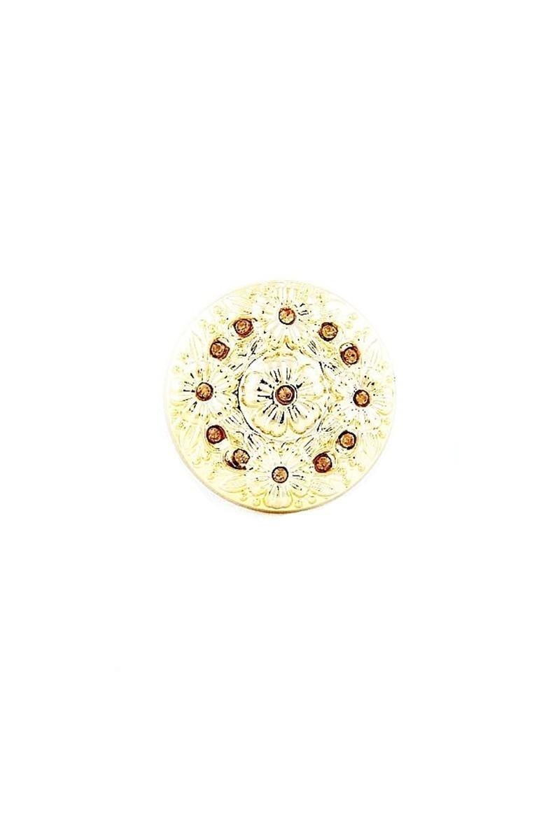 Divax Sarı DFGY525-SARI Flower Garden Yüzük