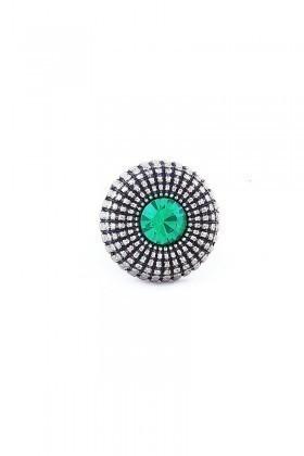 Divax Yeşil DEOSY524-YESİL Eye Of Sun Yüzük