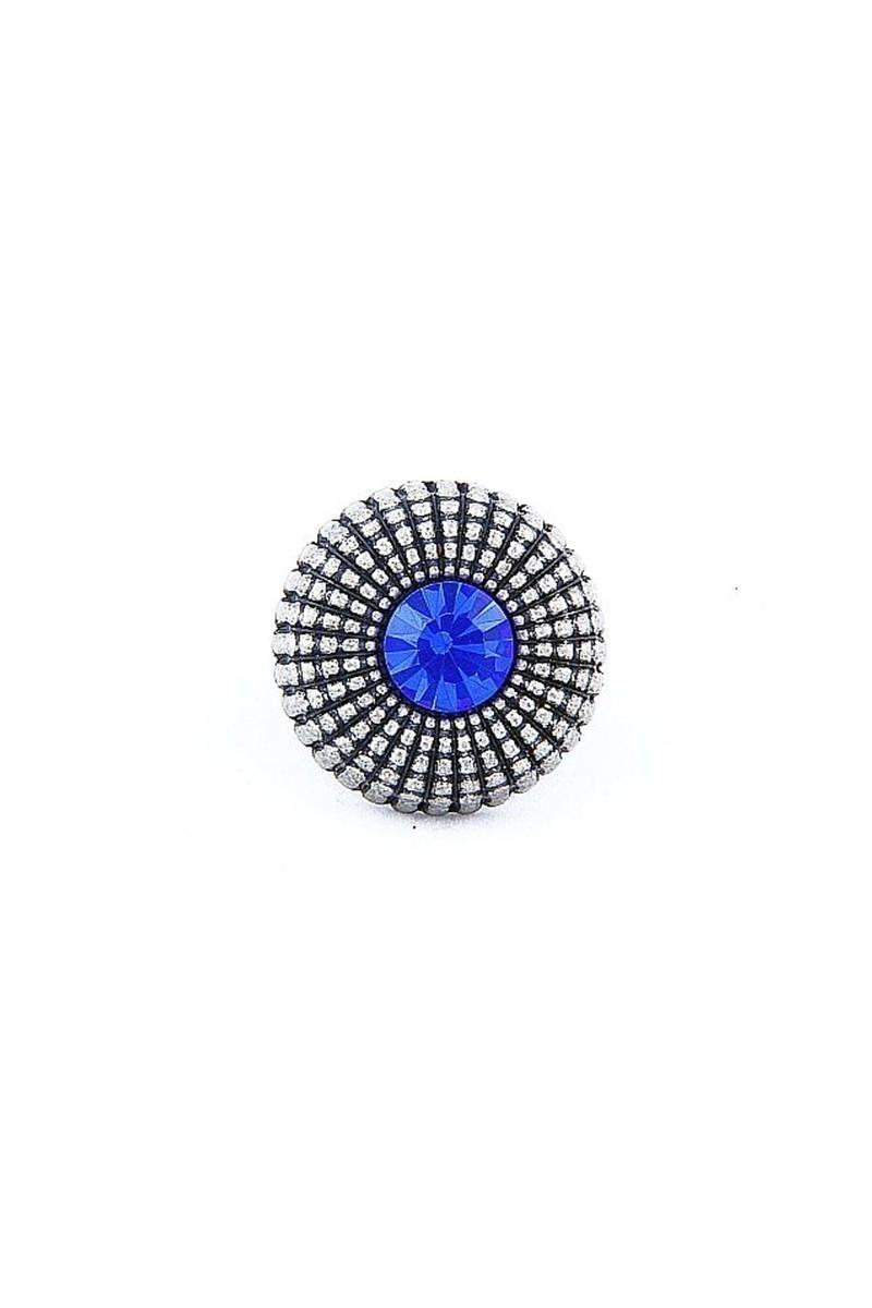 Divax Mavi DEOSY524-MAVI Eye Of Sun Yüzük