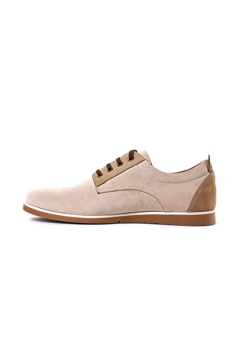 Pandew Krem PNDW-7057 Hakiki Deri Erkek Ayakkabı