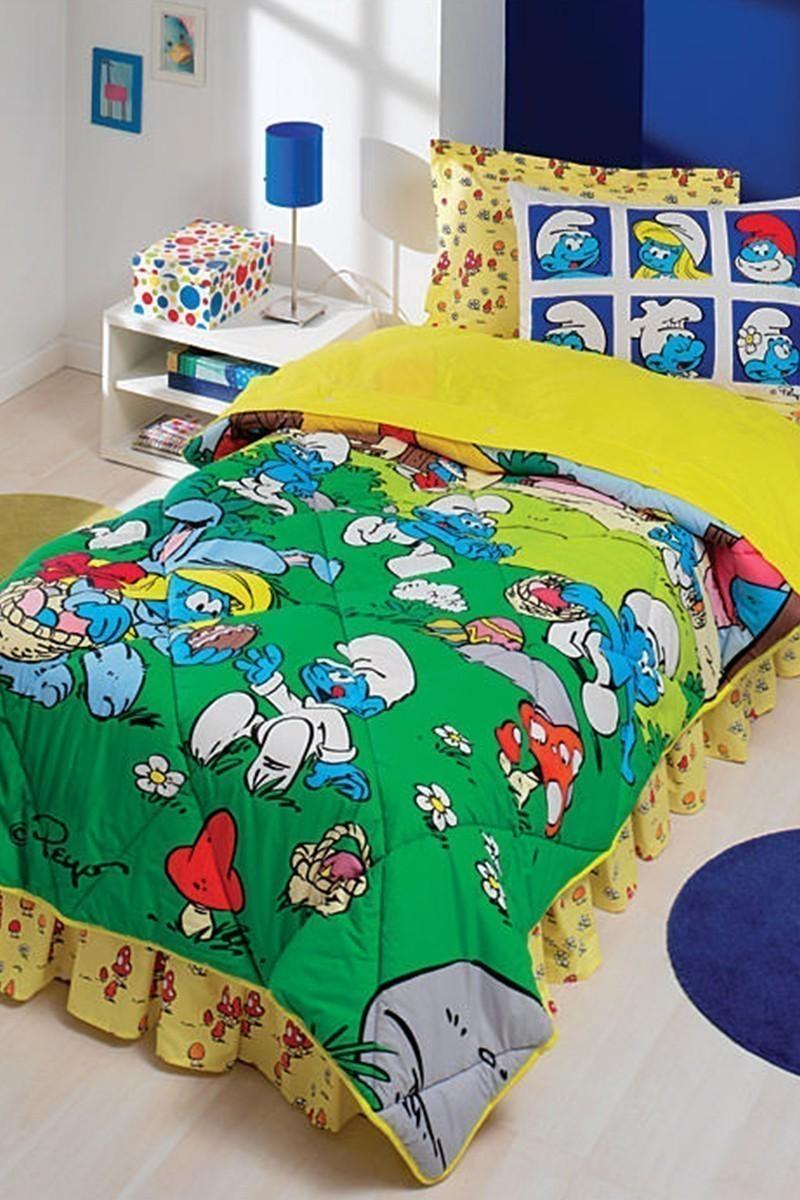 Taç Mavi DD-60048273 Taç Uyku Seti Genç Şirinler
