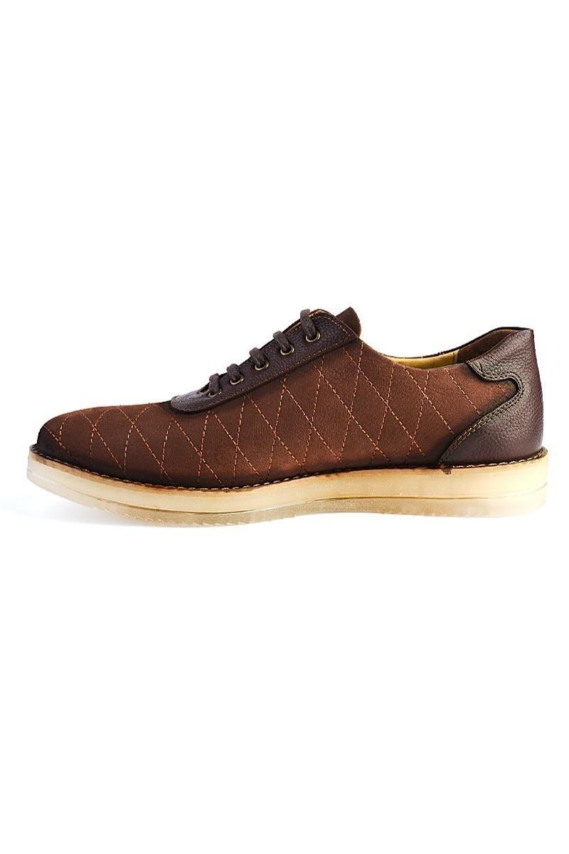 Pandew Kahverengi PNDW-645 Hakiki Deri Erkek Ayakkabı